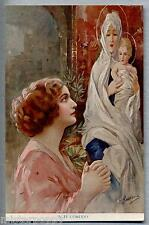 GUERZONI In te confido Donnina PC Circa 1910