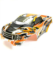 08035 10110-4 RC 1/10 Scale Monster Truck Body Shell Cover HSP Orange Cut