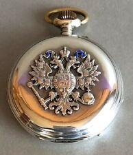 Geschenkuhr ZAR NIKOLAUS II. VON RUßLAND Pavel Bure Coburg 08.04.1894 Savonnette
