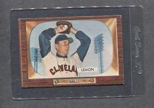1955 Bowman #191 Bob Lemon (Indians)  Ex  (Flat Rate Shipping)