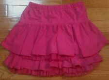 Gymboree Girls Size 7 Pink Ruffle skirt EUC