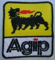 Agip Racing Oil (Formula One) Embroidered Patch -new