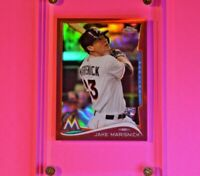2014 Topps Chrome #108 RED REFRACTOR #d/25 Jake Marisnick RC Rookie Cubs MINT