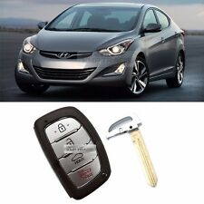 OEM Keyless Panic Smart Key Remote Immobilizer Blank For HYUNDAI 2014-16 Elantra