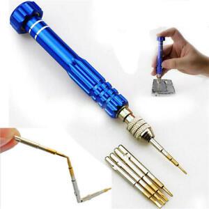 5in1 Pentalobe for iPhone 6s 4 5 Galaxy 6 Screwdriver Repair Tool Set Magnetic