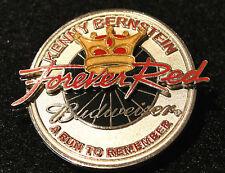 KENNY BERNSTEIN BUDWEISER NHRA FOREVER RED RUN TO REMEMBER 2002 TOUR PIN