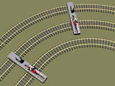 HS Proses PPT-N-01 Parallelgleislehre justierbar Spur N