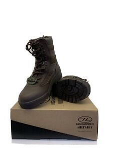 Highlander Military Brown Boots Size 6.5