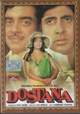 DOSTANA - RARE EROS BOLLYWOOD DVD - Amitabh Bachchan, Shatrughan Sinha, Zeenat A