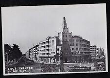 Vintage RPPC Postcard Eros Theatre - Bombay India - Unused