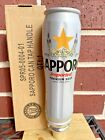 """Sapporo Figural Can Premium BEER Keg Tap Handle 8.75"""" Tall NEW IN BOX Old Stock"""