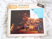 SETLIST THE VERY BEST OF KANSAS LIVE CD NEW ECO-FRIENDLY DIGIPAK IN CONCERT ECD