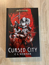 New! Warhammer Quest Cursed City Book ~ Age of Sigmar Board Game Hardback + Card