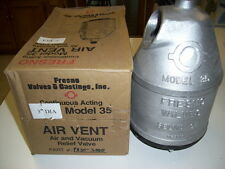 """Fresno, Irrigation Pipe vent,# FO35-3000, 3"""" New, $460.00 qty 6."""