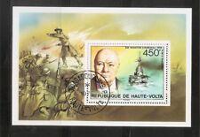 Burkina Faso SC # 351 Sir Winston Churchill. Souvenir Sheet. MNH
