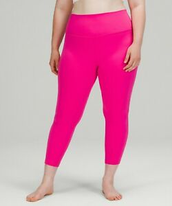 """LATEST RELEASE LULULEMON NWT ALIGN PANT 25"""" SONIC PINK~SIZE 10~ USPS SHIP"""
