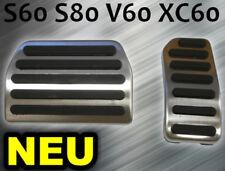 Pedalset Pedale Pedalkappen VOLVO S60 S80 V60 XC60 AUTOMATIK ALU **NEU**