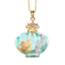 Disney Store Japan Little Mermaid Princess Ariel Perfume Bottle Necklace Pendant
