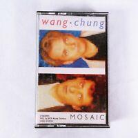 Wang Chung Mosaic Cassette Tape 1986 New Wave Pop Rock