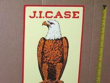 J. I. CASE - Eagle & World Logo --- Racine, Wis. ----- OLD SIGN --- Dated...'92.