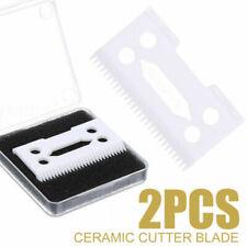 2 Clipper Ceramic Cutter Blade Magic Clip 2 Holes For Wahl Shear Clipper Kit