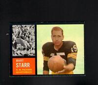 1962 Topps # 63 Bart Starr NM
