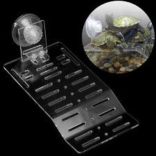 Acrylic Turtle Pier Dock Basking Platform Shelf Ramp Aquarium Fish Tank Decor