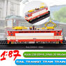 1:87 Rail Transit Tram Train Rada 230 059-8 (1966) 3D Static Modello Locomotive