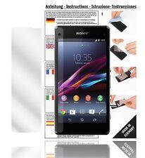 6x Displayschutzfolien für Sony Xperia Z1 Compact Schutzfolie Klar Folie