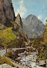 Spain Picos de Europa Carretera Unquera Potes Desfiladero de la Hermida