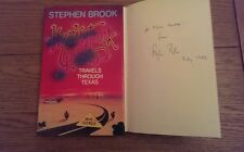 Honkytonk Gelato Travels Through Texas SIGNED ?  DATED Stephen Brook Hardback