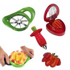 Strawberry Huller & Cutter + Bonus Apple Slicer + WARRANTY✓ As Seen on TV✓