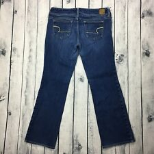American Eagle Slim Boot Stretch Low Rise Denim Jeans Women's Size 10