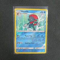 Weavile 44/236 Reverse Holo Rare Cosmic Eclipse Pokemon TCG Card NM