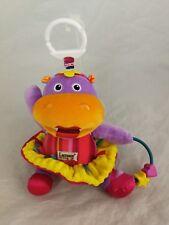 United Lamaze Sensory Baby Cot Lulu Tutu Hippo Pram Buggy Toy