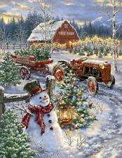 CHRISTMAS TREE FARM 500 PIECE JIGSAW PUZZLE by SPRINGBOK ~ NEW & SEALED