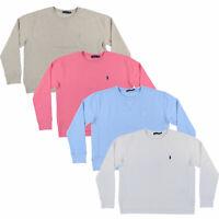 Polo Ralph Lauren Womens Sweatshirt  Fleece Crew Neck Pony Logo Nwt Xs S M L Xl