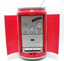 Coca-Cola - LATTINA RADIO e REGISTRATORE CASSETTE