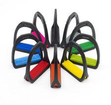Compositi Premium Stirrup Pads - Black - Childs