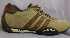 Adidas Team Goodyear Mens Brown Suede Sneaker Shoes Size 6