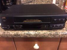 JVC VHS VCR Player Recorder Home Theater HR-J443U Video Tape Cassette
