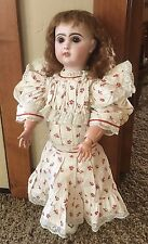 Antique Jumeau French bisque doll 22""