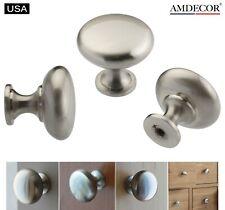 Amdecor N11014.32SN Satin Nickel Brushed Kitchen Cabinet Knob Pull Handle