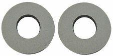 Flite old school BMX bicycle grip foam donuts - GRAY GREY *MADE IN USA*