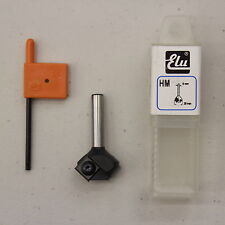 ELU E45562 HM/TCT REPLACEABLE TIP 45° TRIMMER ROUTER CUTTER 8MM SHANK D:29 I:12
