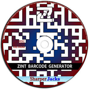NEW & Fast Ship! Zint Barcode Generator QR Code Creator Software - Windows Disc