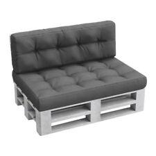 Gartenmöbel-Auflagen aus Polyester ohne Muster für 2-Sitzer-Bank/-Hollywoodschaukel