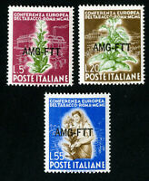 Trieste Stamps # 85-7 VF OG NH Set of 3 Scott Value $46.75