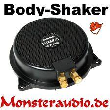 Sinuslive bassPump III 4 Ohm Bodyshaker Subwoofer Körperschallwandler Untersitz