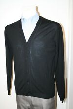 PRADA MILANO CARDIGAN 100% WOLLE Pullover NEU GR: L 48 50 UMC692 MADE IN ITALY
